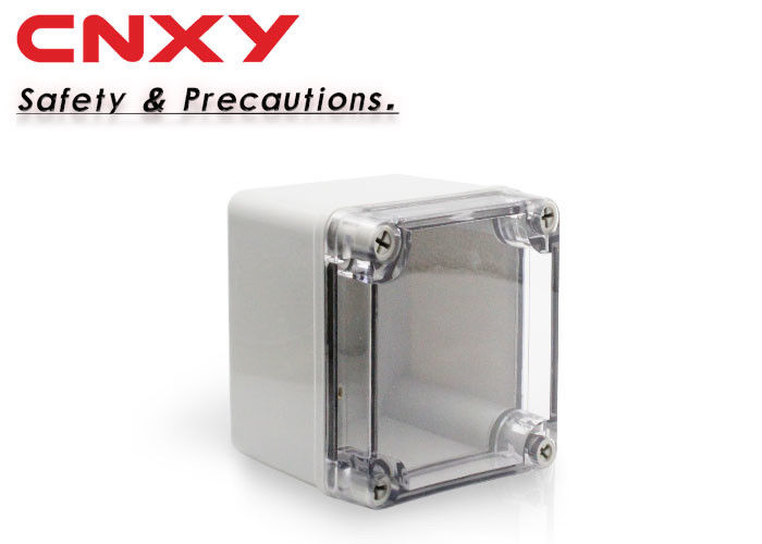 Square Transparent Waterproof Junction Box -20 To 120 ℃ Working Temperature